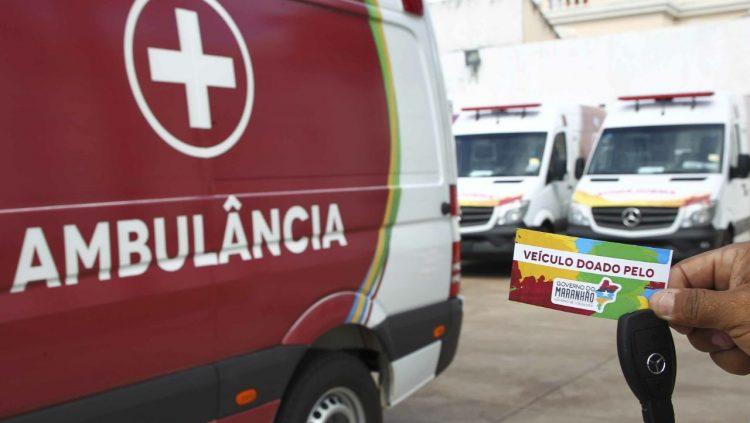 """Ambulância entregue pelo Governo do Maranhão é """"notícia maravilhosa"""", diz prefeita de Sucupira do Riachão"""