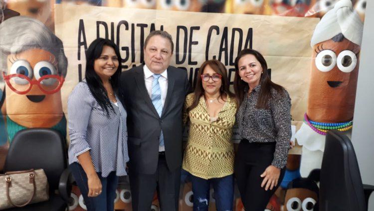 Prefeita Gilza Ribeiro assina Termo de Cooperação com o Tribunal Regional Eleitoral do Maranhão – TRE/MA
