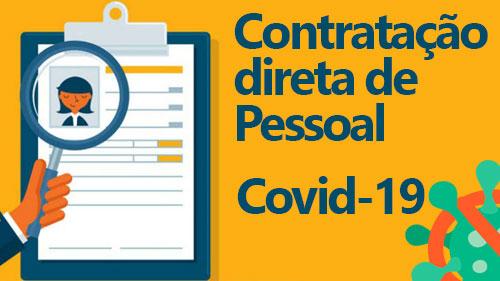 Contraação Direta de Pessoal - Combate ao Coronavírus
